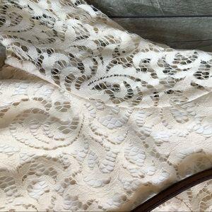 Dresses - NWOT LACE long sleeve mini dress!